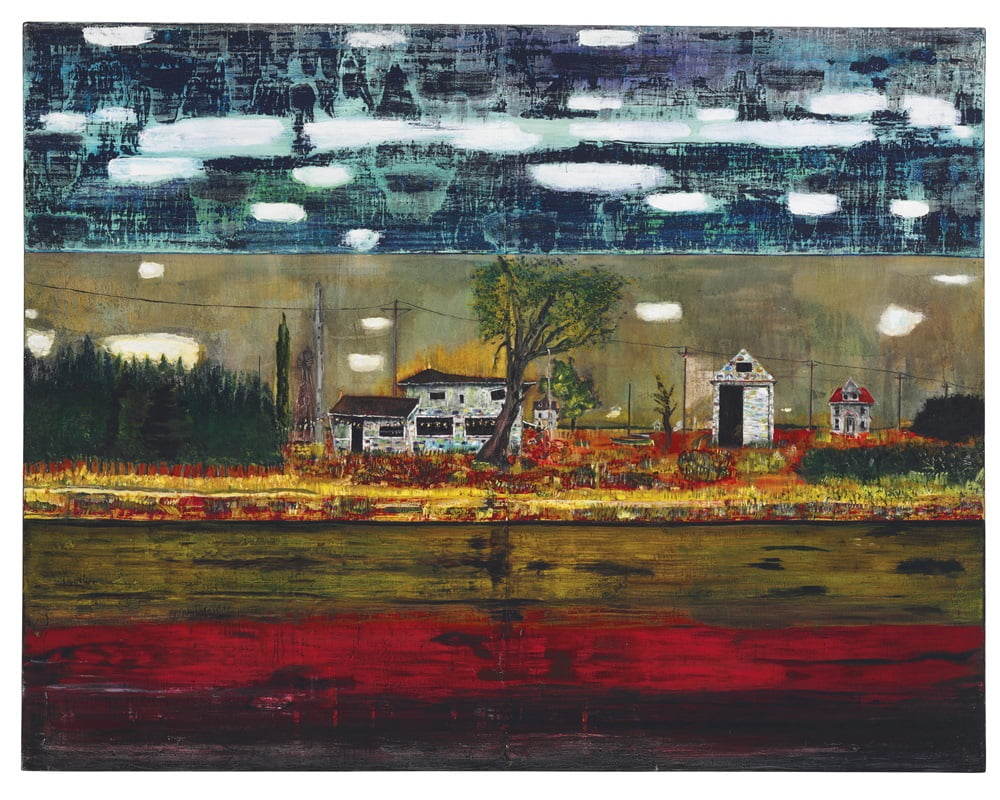 Peter Doig Road House 1991
