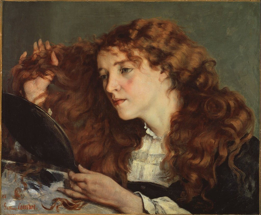 Gustave Courbet   Jo the Beautiful Irish Girl   Google Art Project