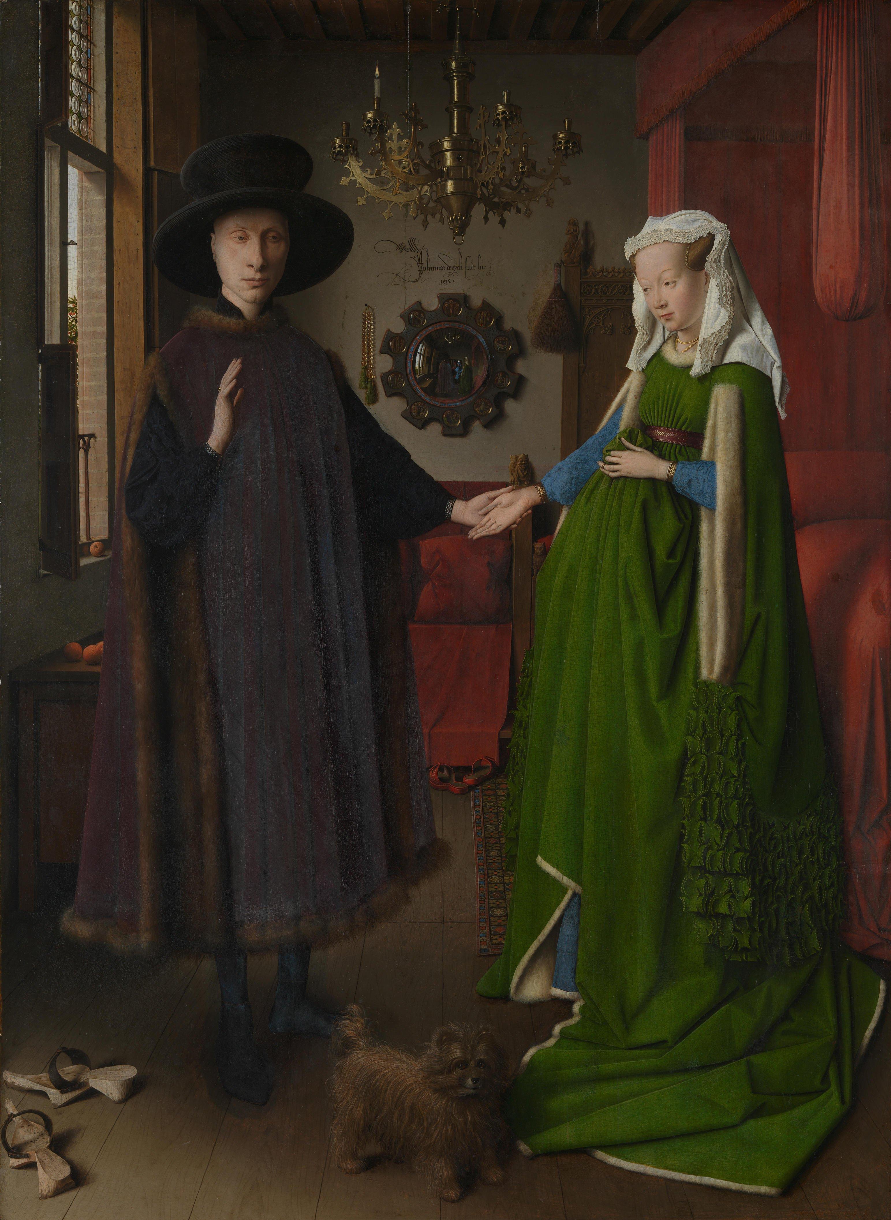 Van Eyck Arnolfini Portrait