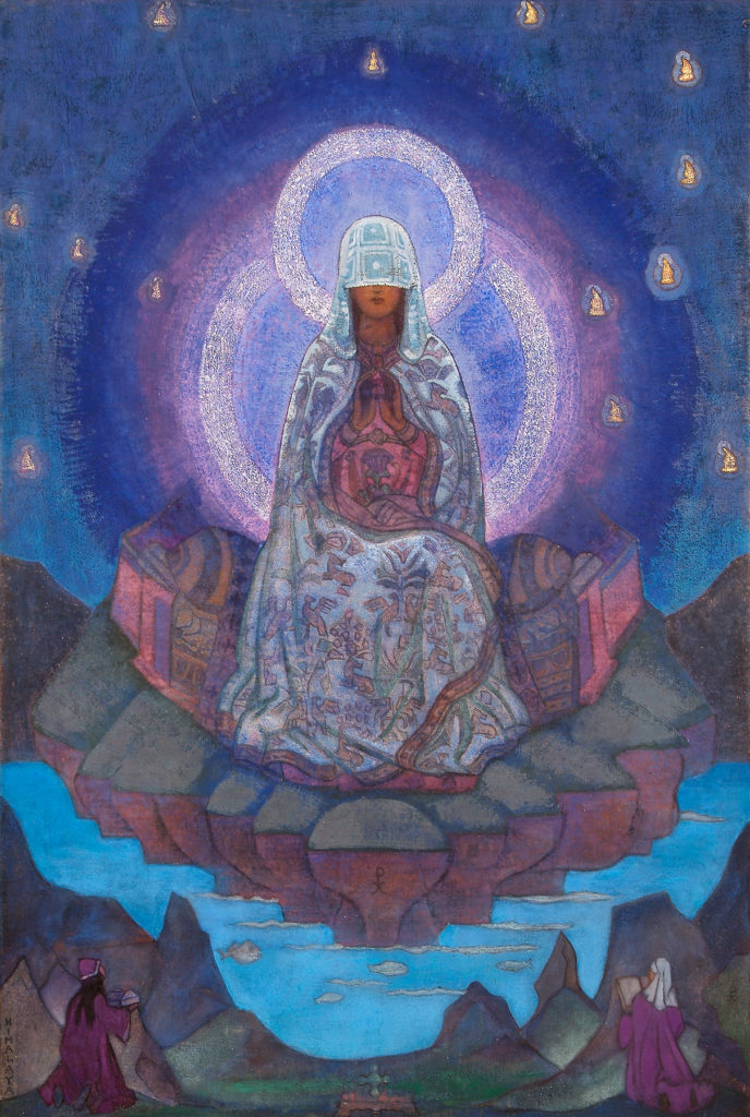 Mother of the World, 1937 Nicholas Roerich