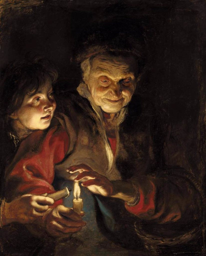 night-scene-1617 Night Scene - Rubens Peter Paul
