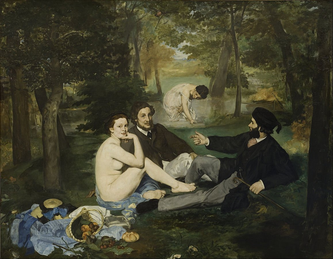 1158px Edouard Manet   Luncheon on the Grass   Google Art Project