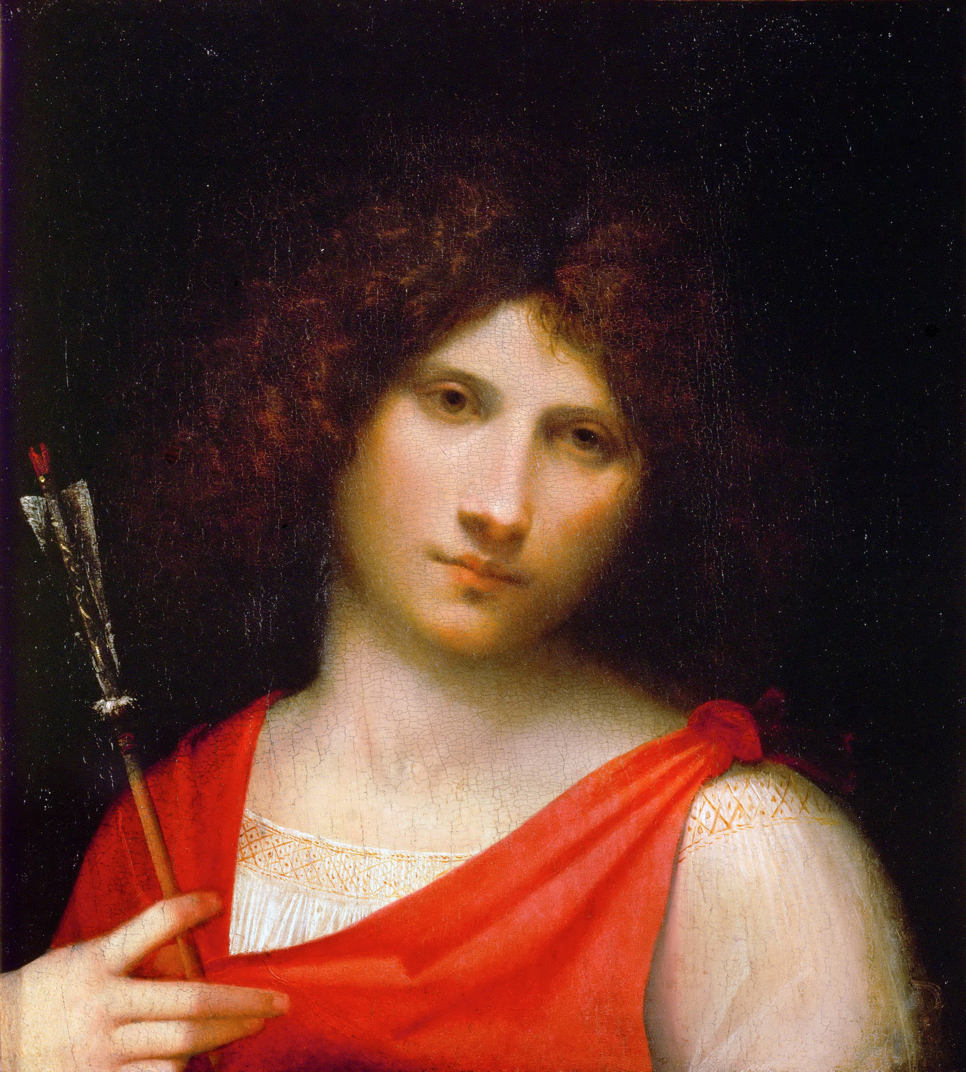 Giorgione Young Man with Arrow 1506 Kunsthistorisches Museum Vienna