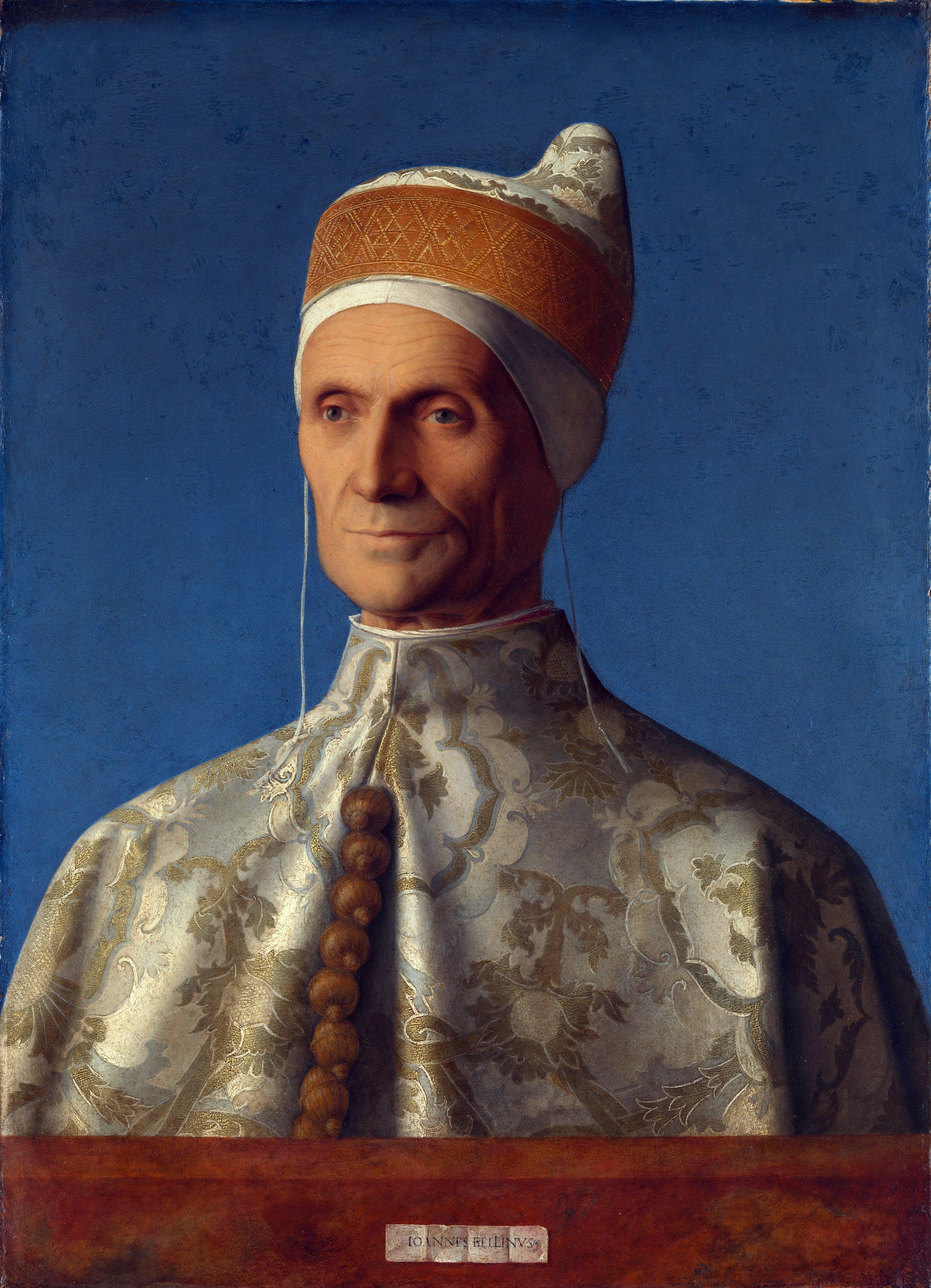 Giovanni Bellini portrait of Doge Leonardo Loredan