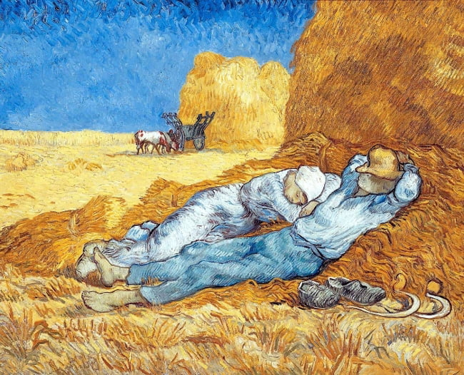Midday Vincent van Gogh