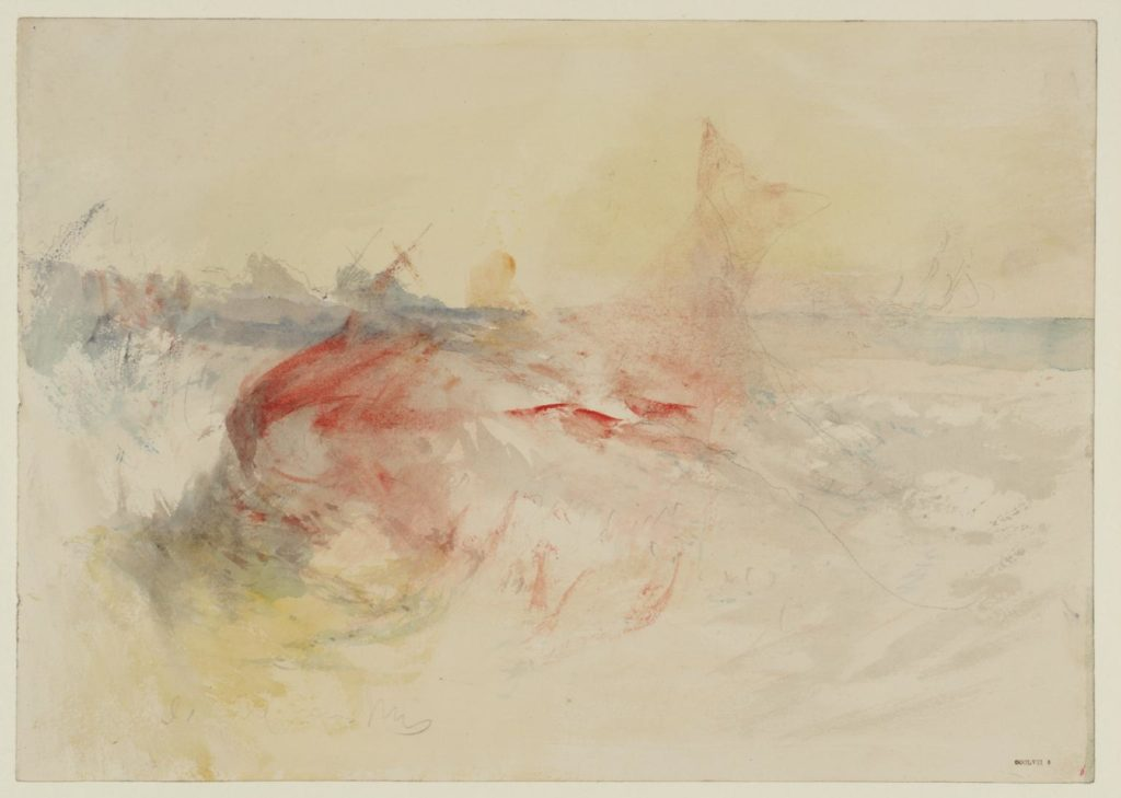 William-Turner-A-Harpooned-Whale
