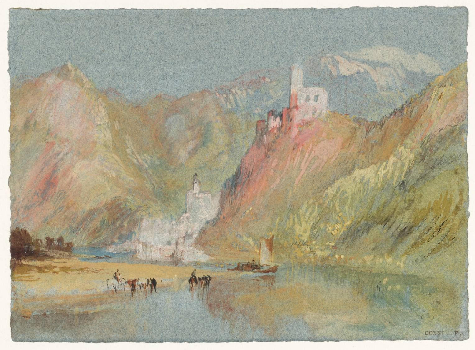 historia-técnica-acuarela-William-Turner-Beilstein-Castillo-Metternich