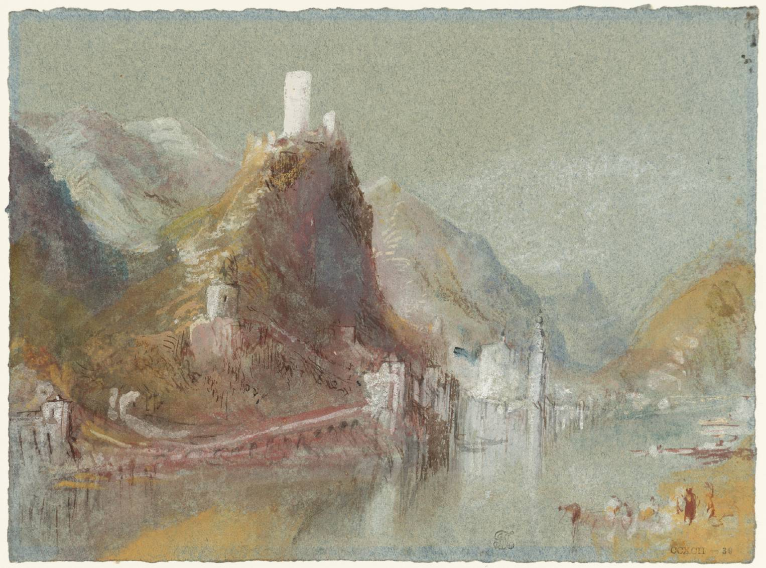 Joseph Mallord William Turner Cochem from the South c.1839