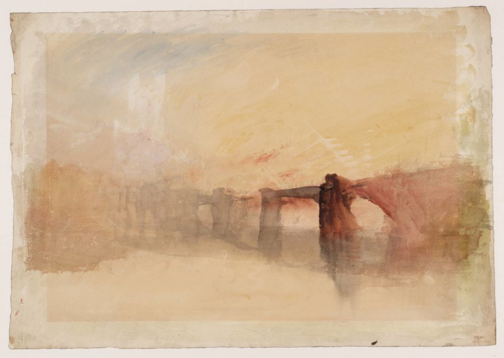 William-Turner-Rochester-Castle-and-Bridge-circa
