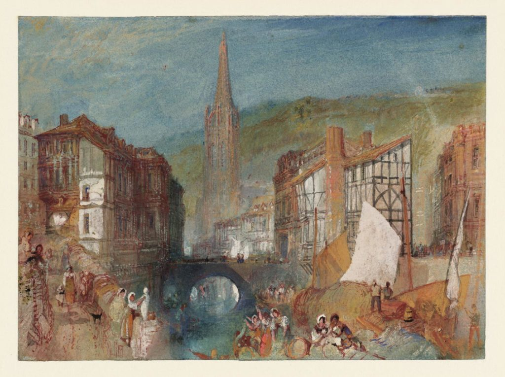 William-Turner-The-Church-of-Saint-Martin-at-Harfleur-Normandy