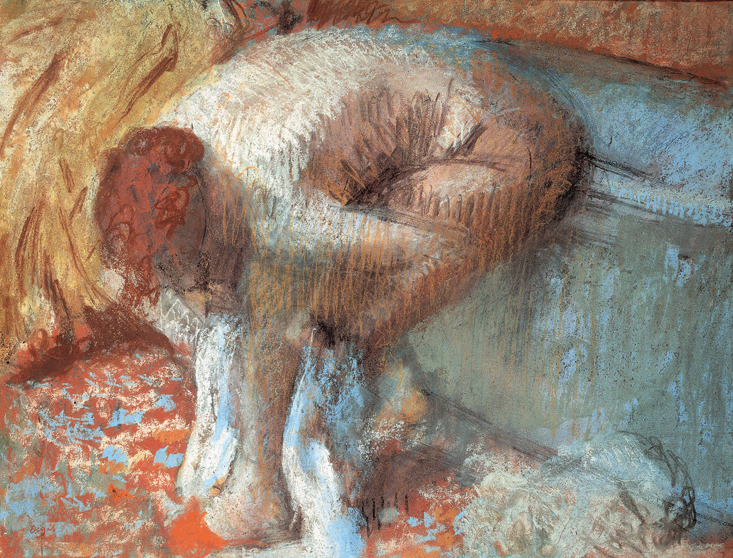 after the bath4 degas
