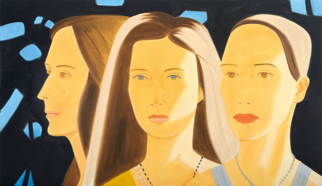 alex-katz-trio-4-2009-albertina-vienna-the-batliner-collection-2013-prolitteris