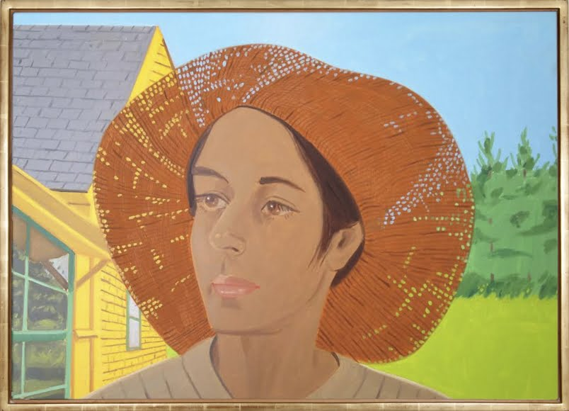 alex-katz_orange-hat-1-ada-1973-34%22-x-48%22-casterlinegoodman-gallery-visit-page-view-image-share
