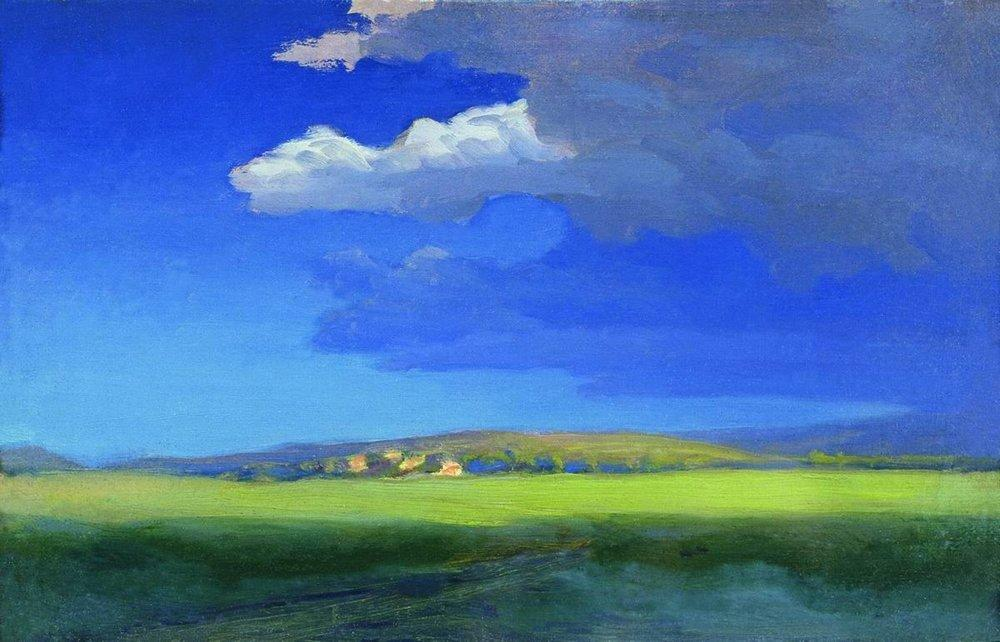 After the thunderstorm 1879 Arkhip Kuindzhi