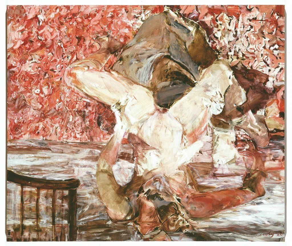 Single Room Furnished Cecily Brown 2000 oil on canvas. Image via CFA Berlin.