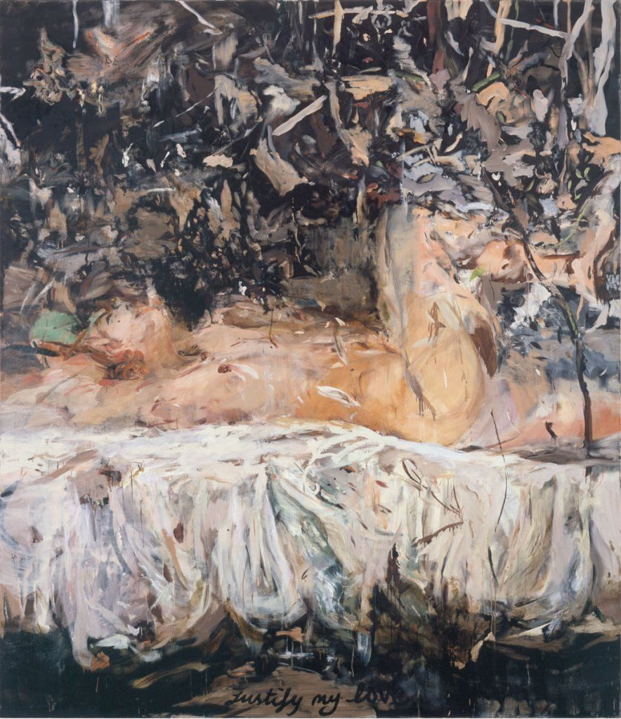 ustify My Love Cecily Brown 2004 oil on linen. Image via CFA Berlin.