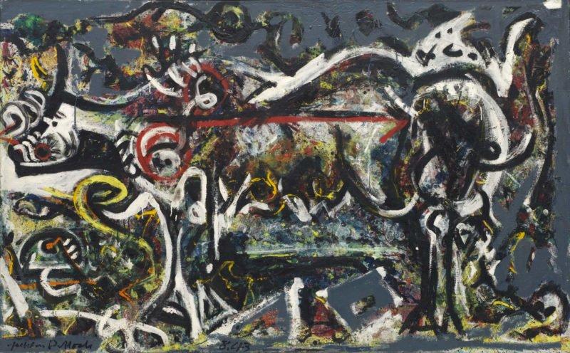 1 Jackson Pollock The She Wolf 1943