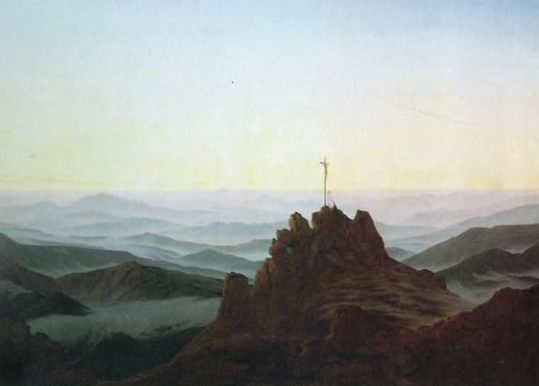 Caspar David Friedrich. Morning in the Riesengebirge