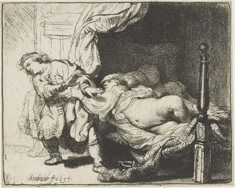 Rembrandt   Joseph and Potiphars wife