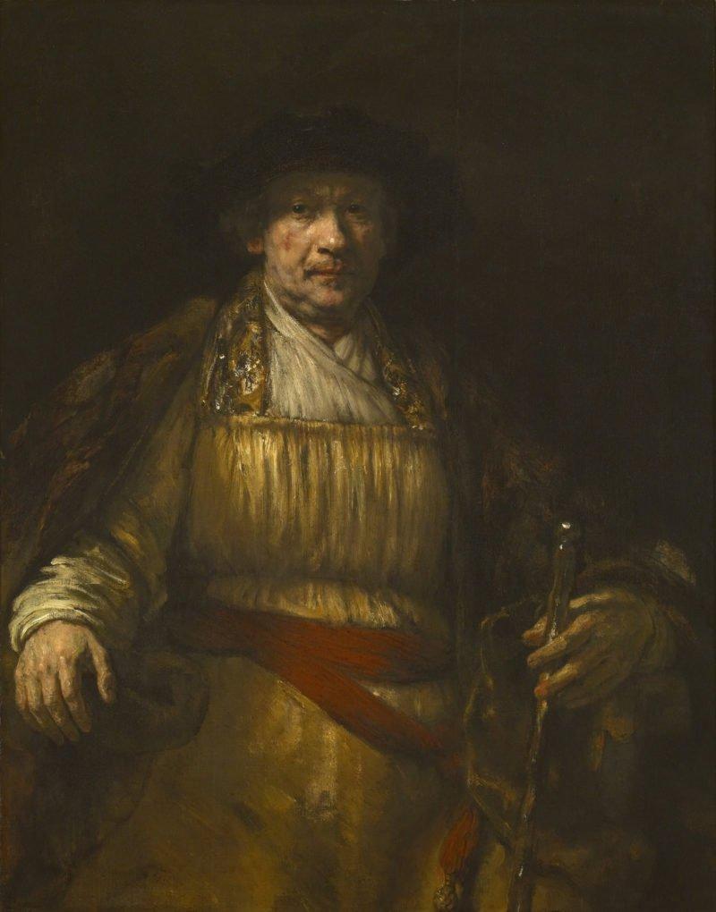 Rembrandt   Zelfportret   Google Art Project