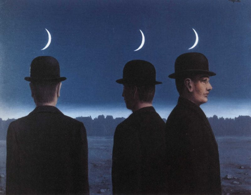 The masterpiece or the mysteries of the horizon 1955 Rene Magritte