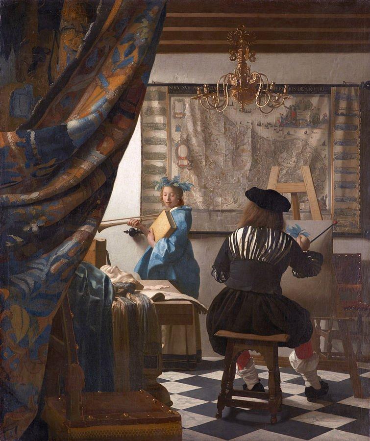 claroscuro-Jan-Vermeer-El-arte-de-la-pintura