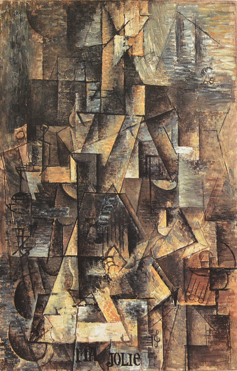 pintura-abstracta-Picasso-Jolie