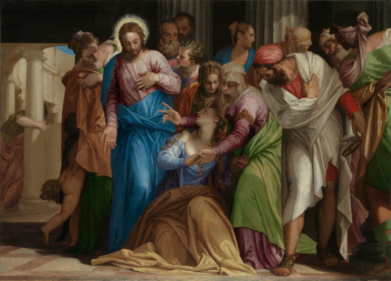 paolo veronese the conversion of mary magdalene 1