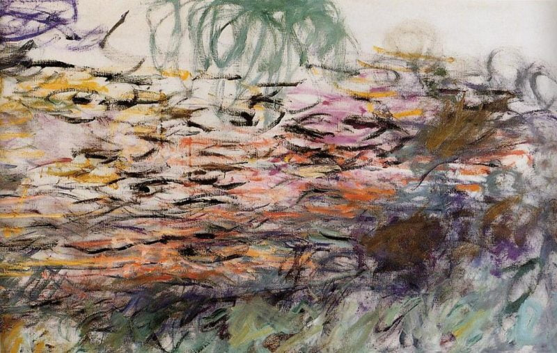pintura-gestual-Claude-Monet-Lirios-acuáticos