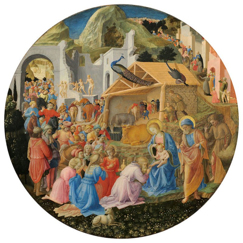 900px fra angelico fra filippo lippi the adoration of the magi