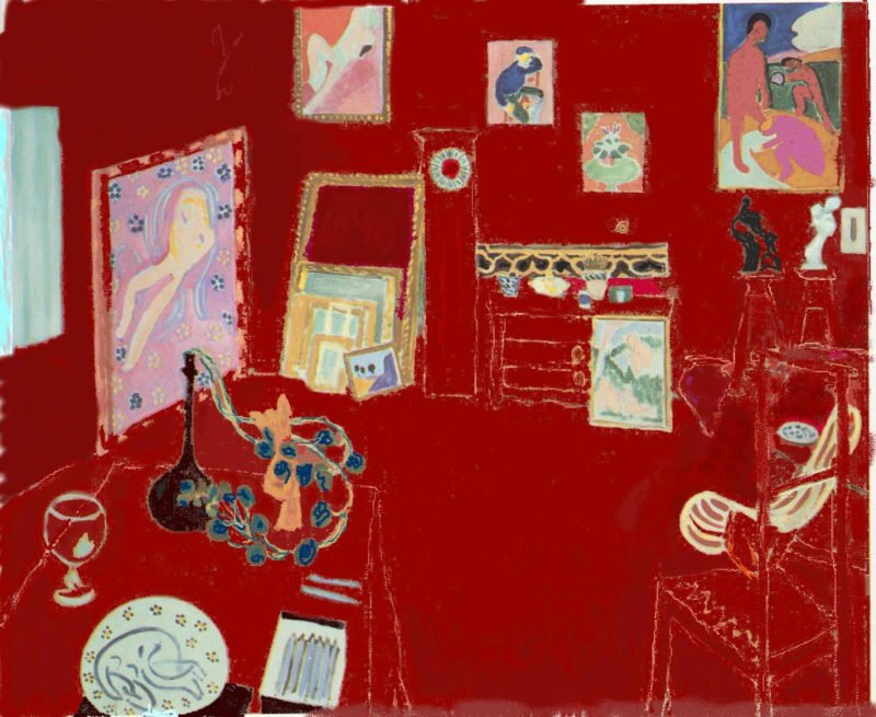 5 matisse red studio