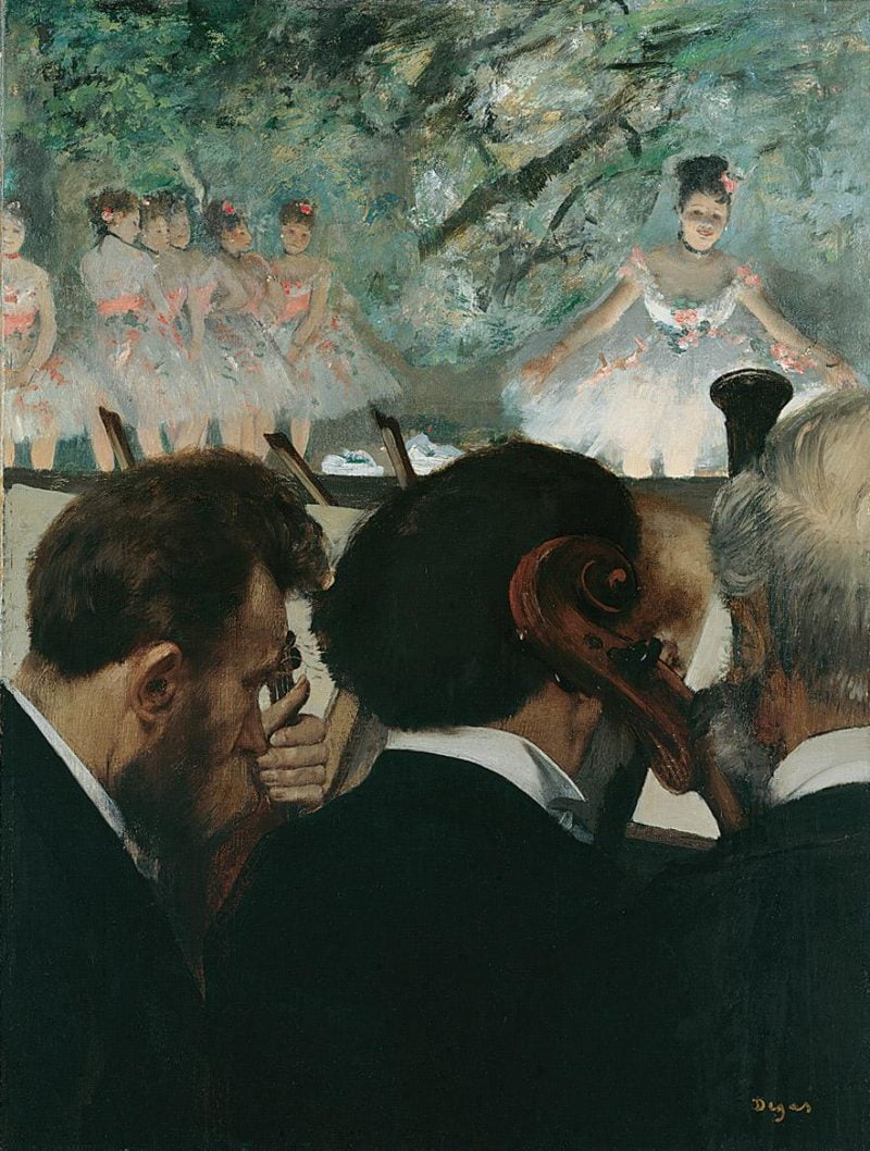 staedel kunstdermoderne degas edgar dieorchestermusiker 1872