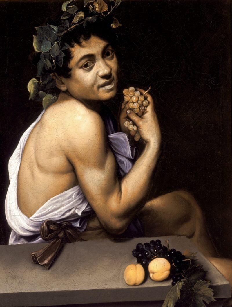 young sick bacchus caravaggio 1593