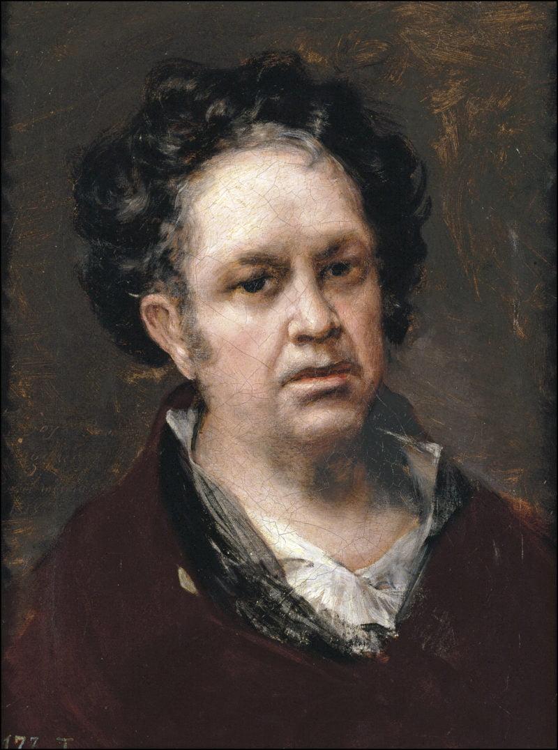autorretrato goya 1815