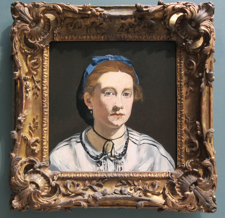 edouard manet portrait of victorine meurent 1862 1395184285 org