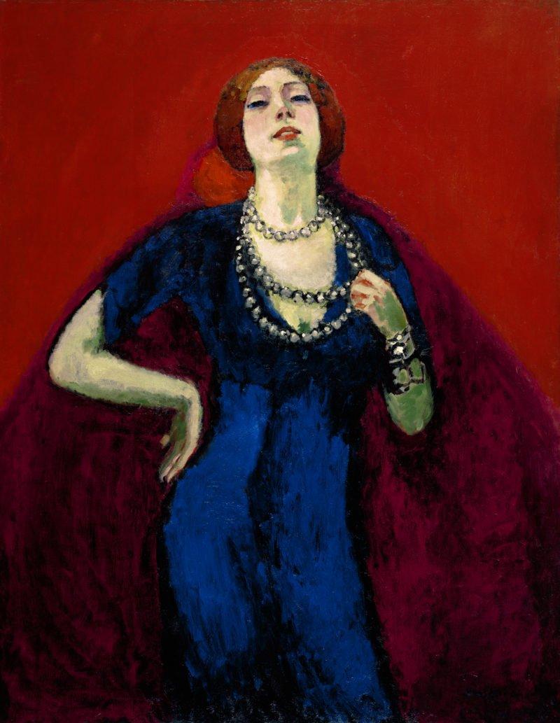 kees van dongen portrait de guus preitinger 1910