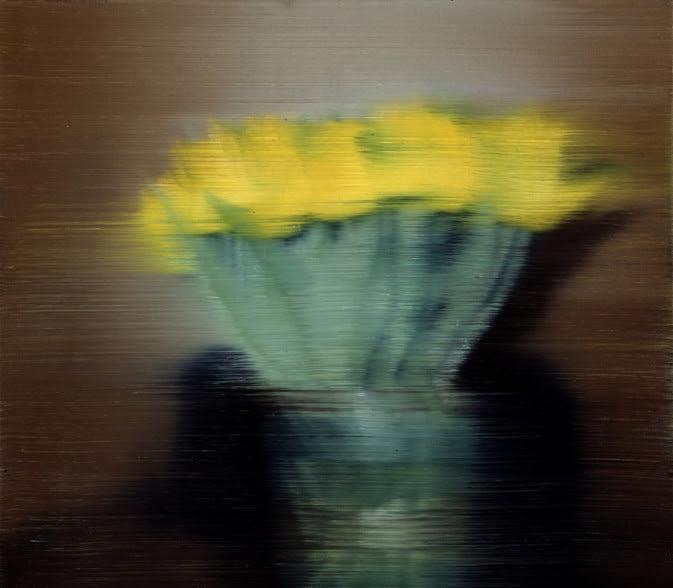 tulips 1995 36 cm x 41 cm catalogue raisonne 825 1 oil on canvas