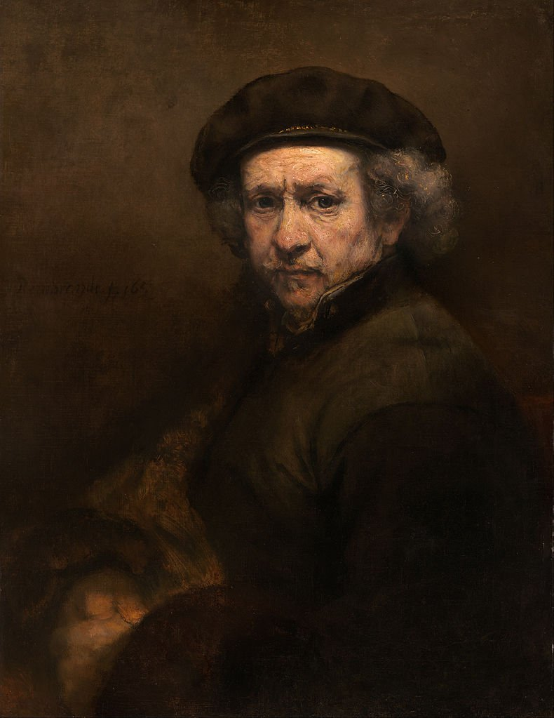 790px rembrandt van rijn   self portrait   google art project