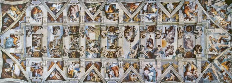 cappella sistina ceiling
