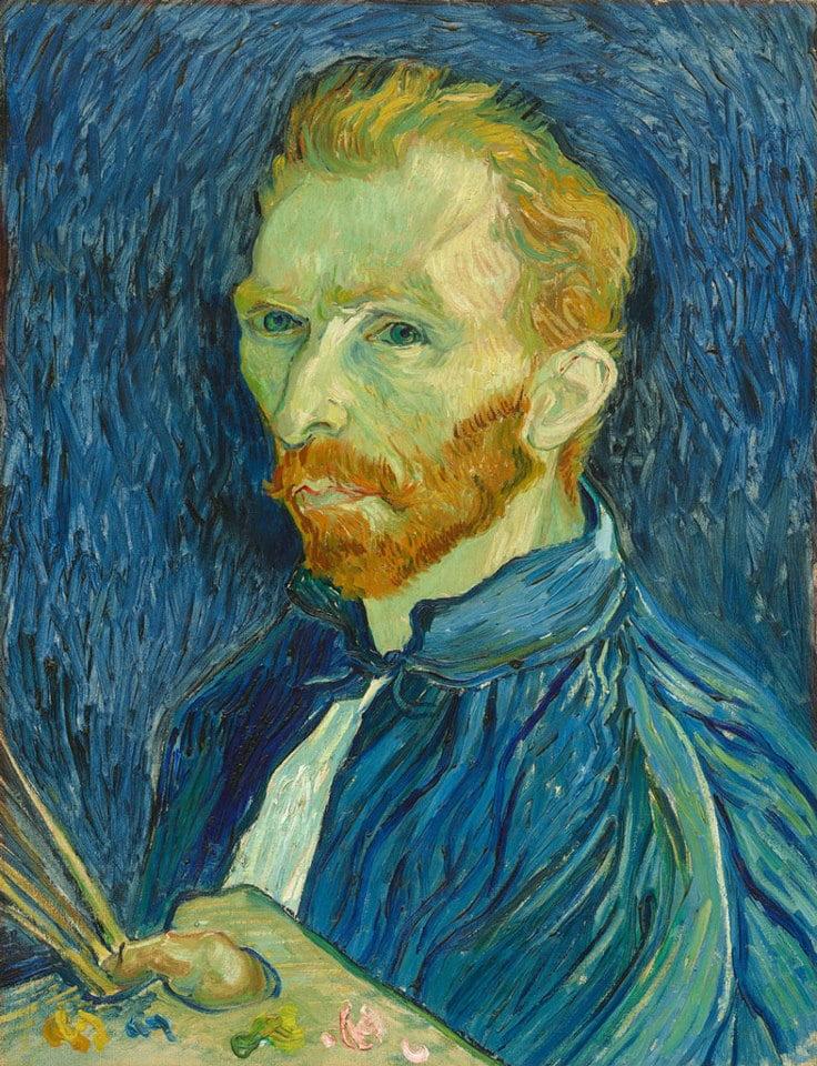 vincent van gogh self portrait 1889 oil on canvas