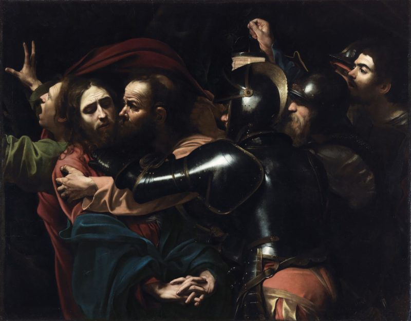 michelangelo merisi da caravaggio 1571 1610 the taking of christ