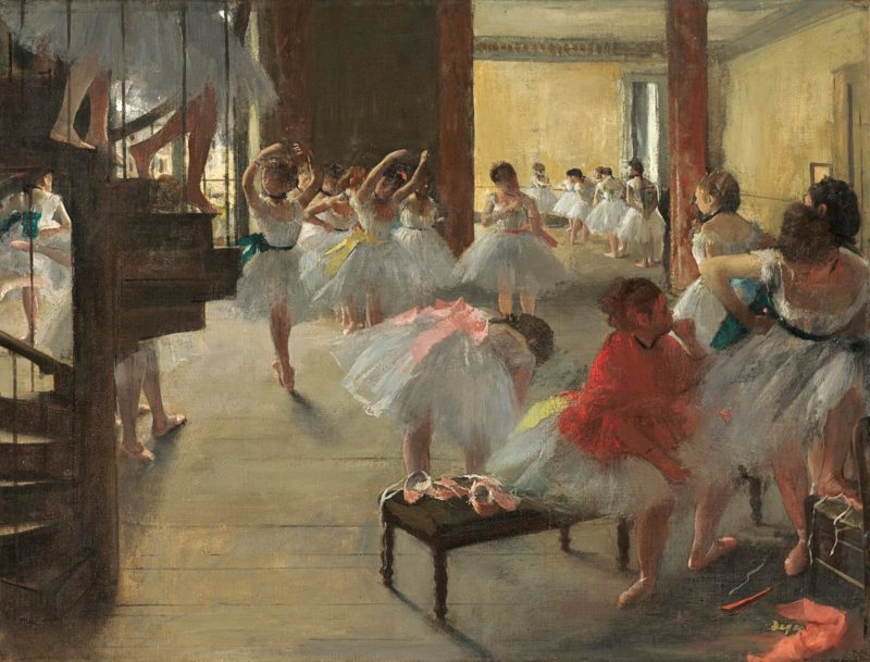 edgar degas the dance class c 1873 oil on canvas national gallery of art washington corcoran collection william a clark collection 1 of 6