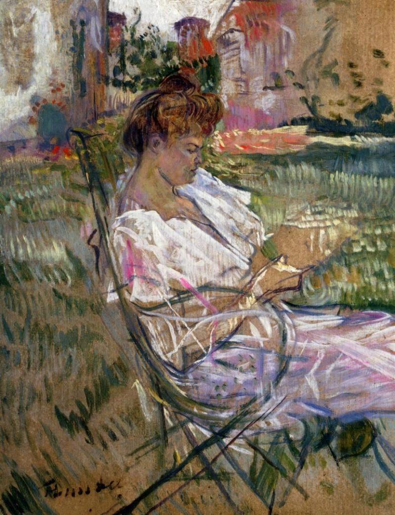 henri de toulouse lautrec portrait of misia natanson 1897 oil on board