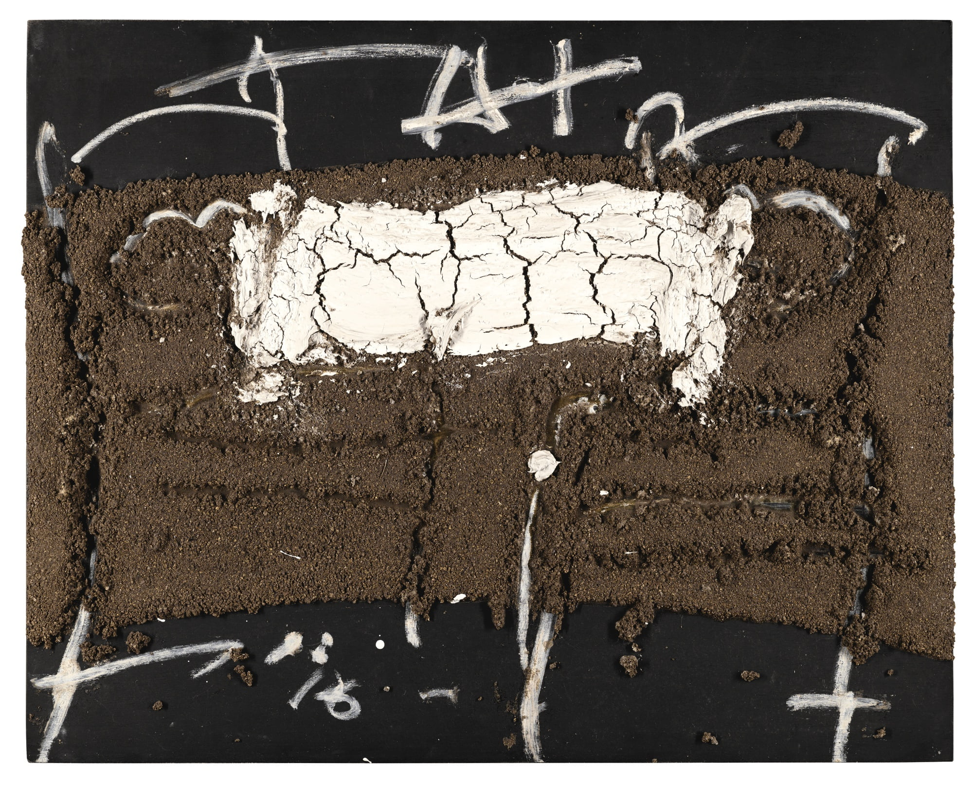 antoni tapies terra i escrits b abstract sothebys l17021lot9cnywen