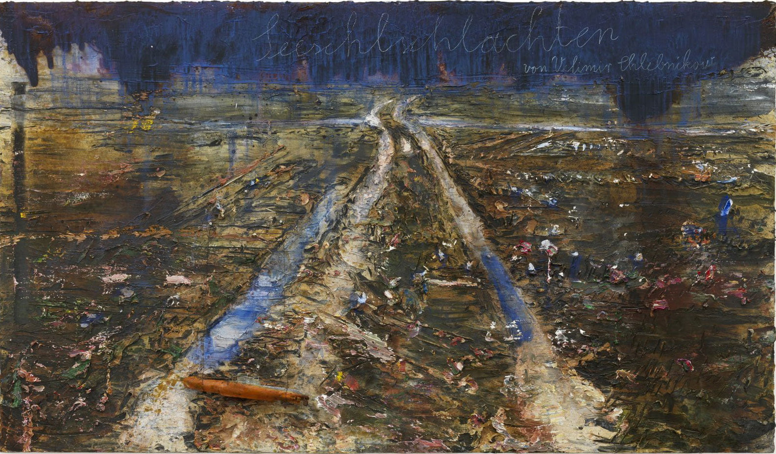 battles at sea by velimir khlebnikov by anselm kiefer photo charles duprat image
