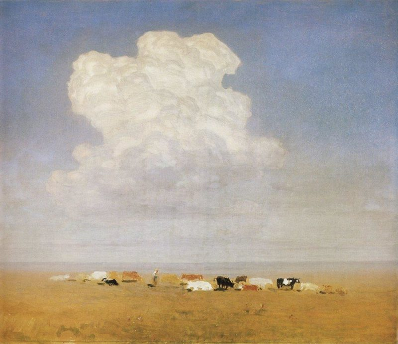 noon herd in the steppe 1895 arkhip kuindzhi
