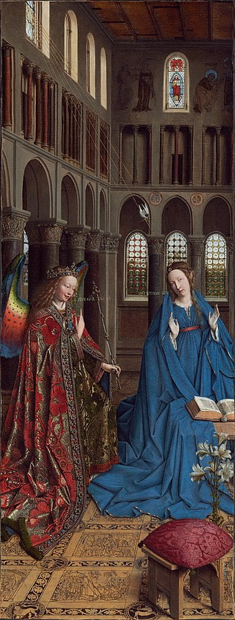 341px annunciation   jan van eyck   1434   ng wash dc