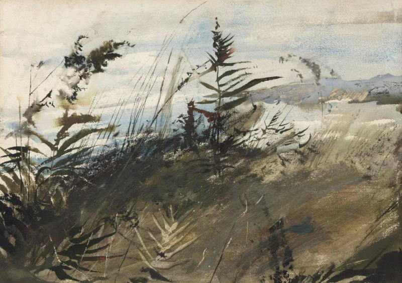 end of storm andrew wyeth watercolor