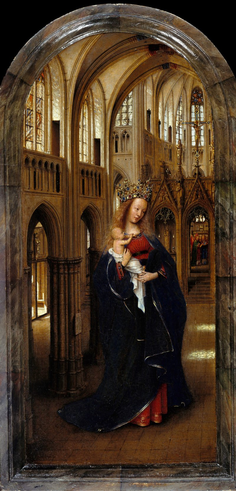 jan van eyck   the madonna in the church   google art project