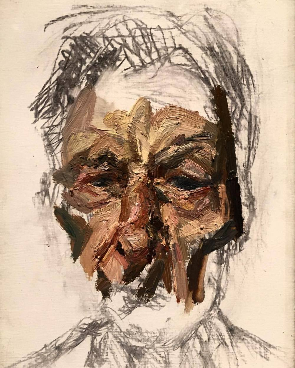 lucian freud self portrait 2002